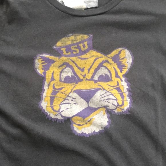NIKE LSU Mike The Tiger Photo T Shirt